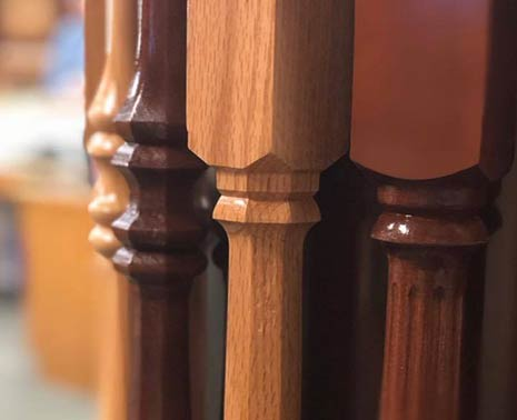 Newel Posts Wood Mouldings in Appleton, WI